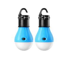 Portable LED Lantern Tent Light Bulb for Camping H BLUE
