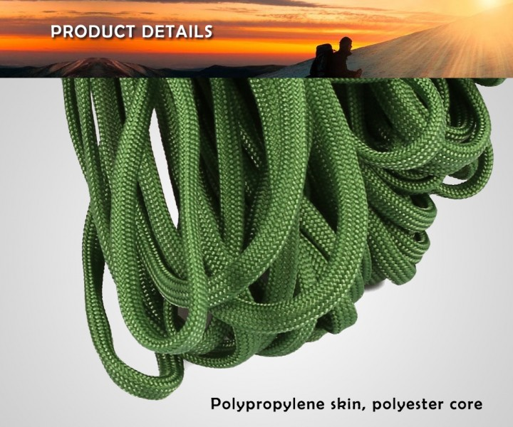 7 Strand 100FT Outdoor Survival and Camping Parachute Rope
