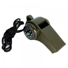 Military Multi-Function High Decibel Survival Whis ARMY GREEN
