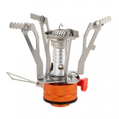 Portable Ultralight Mini Pocket Camping Stove with SILVER