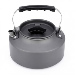 1.1L Water Kettle Jug Cook Set Tea Canteen Pot Out GRAY