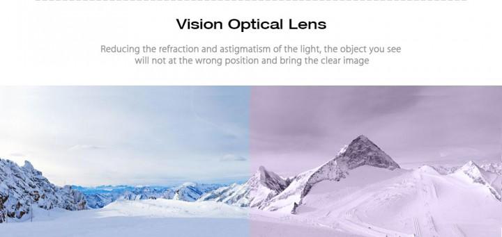 8d697c46b78 BENICE SNOW - 5100 Unisex Spherical Anti-fog Lens Snowboarding Skiing  Goggles Climbing Glasses Eyewear