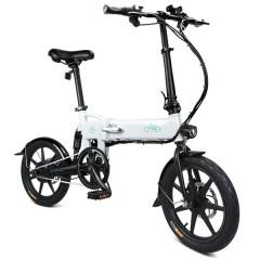 FIIDO D2 Smart Folding Bike Electric Moped Bicycle CRYSTAL CREAM
