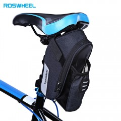 ROSWHEEL Large Capacity Bicycle Water Bottle Tail  BLACK