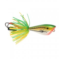 Artificial Frog Lure Hard Fishing Bait with Hook GREEN
