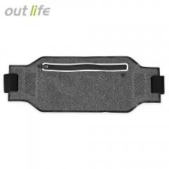 Outlife Outdoor Water Resistant Lightweight Runnin BLACK