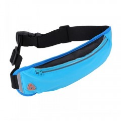 Fashionable Outdoor Travel Breathable Sports Waist SKY BLUE