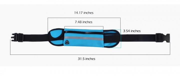 Outlife Outdoor Sport Water Resistant Running Bag Anti-theft Marathon Belt Pack