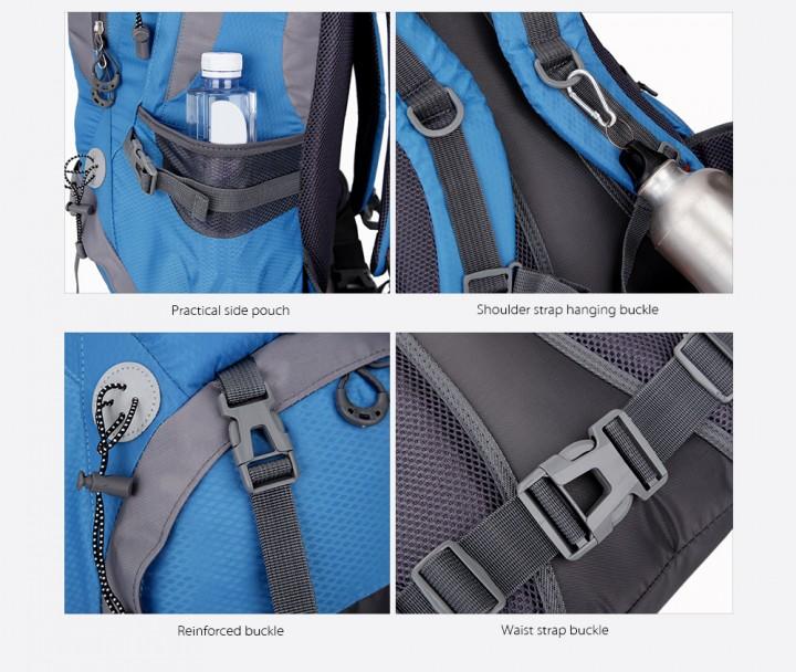 2095d8e8db FREEKNIGHT 0398 30L Water Resistant Climbing Hikin BLUE   Kilimall Kenya