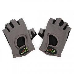 Half Finger Gloves Anti-skid for Sports Gym Riding GRAY XL
