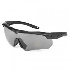 Windproof Cycling Sunglasses Bike Goggles Eyewear  BLACK