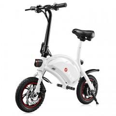 F - wheel DYU D1 12 inch Wheels 10Ah Smart Folding WHITE