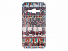 Samsung J1 Multicolored Clear Case