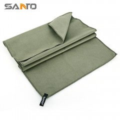 SANTO Outdoor Sports Quick-dry Towel Washcloth for ARMY GREEN