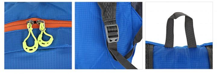 DAOFENGZHANSHI Light Portable Hiking Bag Folded Travel Backpack