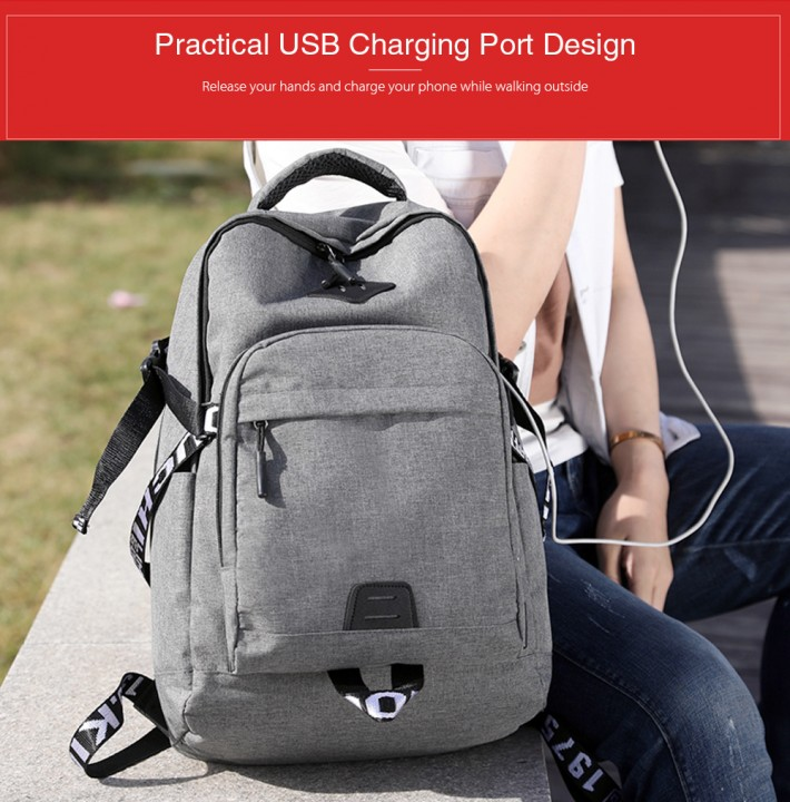 Xingyunzhe6203 Multifunctional Computer Bag Business Backpack Lightweight for Exercise Outdoor Activity