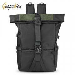 Guapabien Super Large Capacity Backpack Fashion Me ARMY GREEN