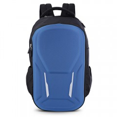 Laptop Backpack Unisex Capacity Computer Bag Trave DEEP BLUE