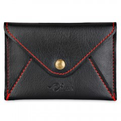 Cute Matte PU Leather Ultra-thin Envelope Design M BLACK