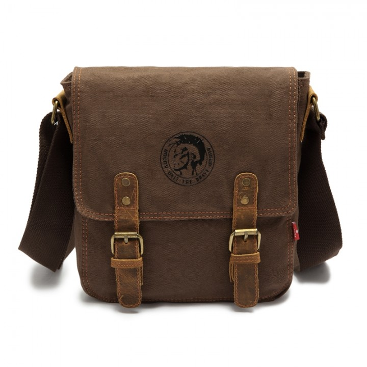 6654100d0e AUGUR 2017 Fashion Men Shoulder Bag Vintage Canvas COFFEE   Kilimall ...