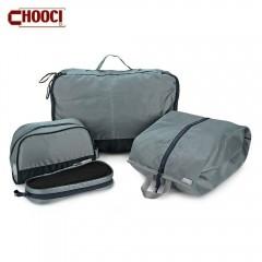 CHOOCI 4pcs Light Weight Water Resistant Foldable  STONE BLUE