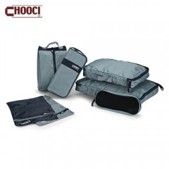 CHOOCI 7pcs Light Weight Water Resistant Foldable  GRAY AND BLUE