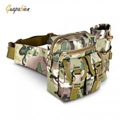Guapabien Multifunctional Tactical Bag Military Wa CAMOUFLAGE GREEN