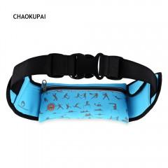 CHAOKUPAI Water Resistant Zipper Night Vision Refl BLUE