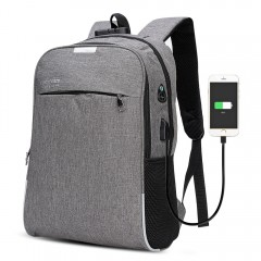 DINGXINYIZU USB Charging Bag Night Reflection Anti GRAY
