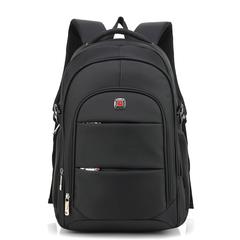 Backpack men's business computer bag student bag large capacity travel backpack black 47*34*18cm