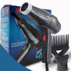 Ceriotti Gek 3000 Fast Styling Salon Hair Dryer Adjustment Hot/Cold Wind Electric Blow Dryer Black normal