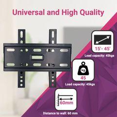Skill Tech Steel Material Fixed TV Wall Mount SH-32T Tilting mount 15
