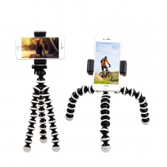 WANS Brand Size S Tripod Bracket Portable Flexible Phone Holder Tripods Foldable Desktop Stand black and white 16cm*3cm*3cm