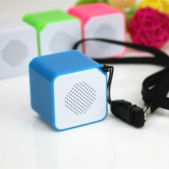 WANS Brand MP3 Portable Shockproof Colorful Wireless  Support TF card Reader black 3w*1 wz1311