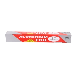 1PC 5*0.3m Barbecue tinfoil Baking Paper Food aluminum foil  baking cake paper Tinfoil Paper(5M) silver 30cm*5m