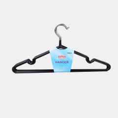 Transull 10pcs Children Portable Clothes Hangers Anti-skid Drying Clothes Hanger random color(036-2) random color