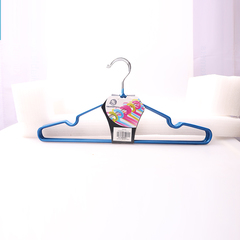 Transull 5pcs Adult Portable Clothes Hangers Anti-skid Drying Clothes Hanger (036-3) random color