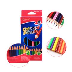 Transull Color Pencil 12 Color School Student Children Color Lead Brush Set Stationery (YL830041-12) 12 Color 12Pcs