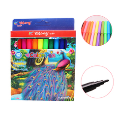 Transull 12 Color Watercolor Pen Children Painting Non-Toxic Washable painting (YL875019-12) 12 color as picture