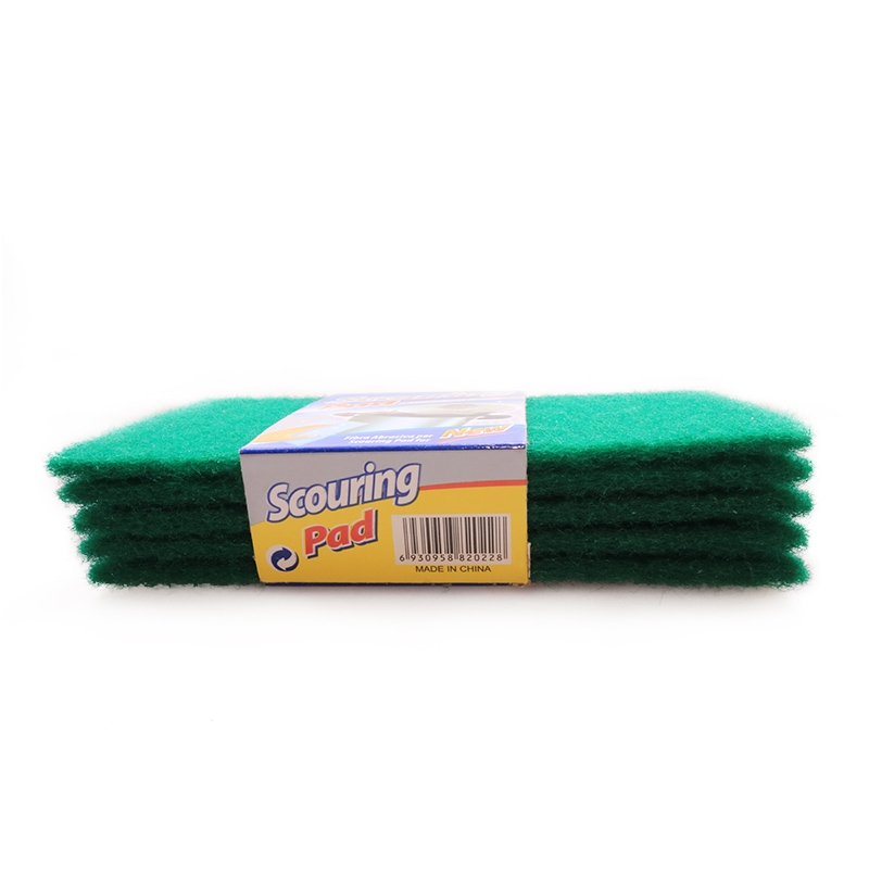Transull 5 Pcs Set Scouring Pad Dish Cloth Cleaning Wipers Kitchen