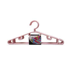 Transull 5pcs Adult Portable Clothes Hangers Anti-skid Drying Clothes Hanger (LT-1020) random color