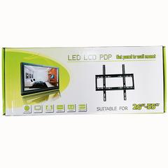 """TRANSULL Adjustable TV Wall Mounts Bracket Flat Panel TV Rack Frame for 26"""" - 455"""" TV (26-55) black"""