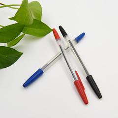 TRANSULL10Pcs Ballpoint Pens Plastic Ballpoint Pens Blue Refill School Office Stationery(21845-1)