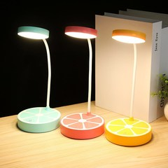 Transull LED Fresh Fruit Desk Table Lamp(8001) color random as picture 3W