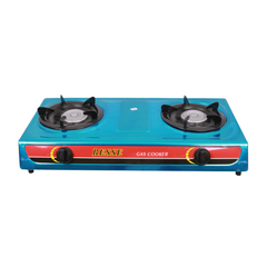 Transull Gas Stove Double Burner (7102)