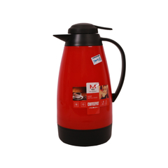 Transull 1.0L Stainless Steel Thermos Flask Coffee Pot (DF-B3 1.0L) red