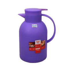 Transull 1.2L Kettle Vacuum Thermos Flask Coffee Pot  Glass Inner  (DF-B15 1.2L) purple