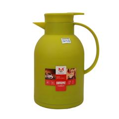 Transull 1.2L Kettle Vacuum Thermos Flask Coffee Pot  Glass Inner  (DF-B15 1.2L) green