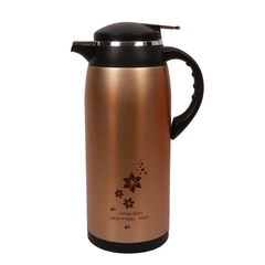 Transull 1.9L Stainless Steel Thermos Flask Coffee Pot (DF-E4) gold