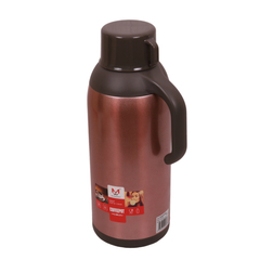 Transull 1.9L Stainless Steel Thermos Flask Coffee Pot Water Kettle With Glass Liner (FWH6030-1.9L) rose red